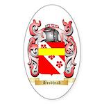 Brodhead Sticker (Oval)