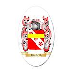 Brodhead 20x12 Oval Wall Decal
