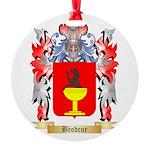 Brodeur Round Ornament