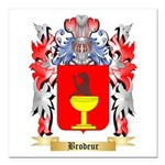 Brodeur Square Car Magnet 3