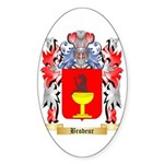 Brodeur Sticker (Oval 10 pk)