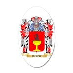 Brodeur 20x12 Oval Wall Decal