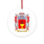 Brodeur Ornament (Round)