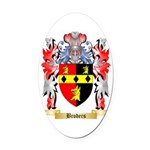 Broders Oval Car Magnet