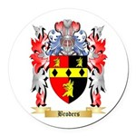Broders Round Car Magnet