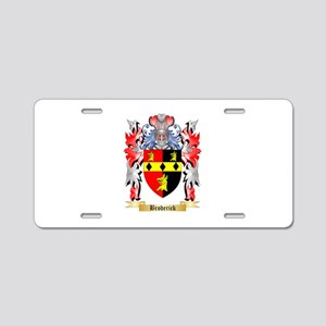 Broderick Aluminum License Plate