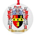 Broder Round Ornament