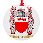 Brockie Round Ornament