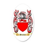 Brockie Oval Car Magnet