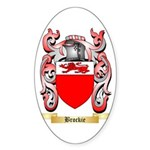 Brockie Sticker (Oval 10 pk)