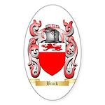 Brock Sticker (Oval)