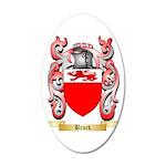 Brock 35x21 Oval Wall Decal