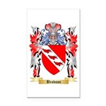 Brobson Rectangle Car Magnet