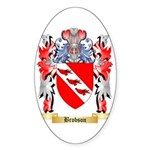 Brobson Sticker (Oval 10 pk)