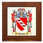 Brobson Framed Tile