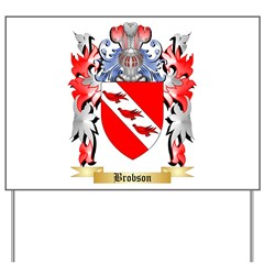 Brobson Yard Sign