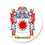 Broadhurst Round Car Magnet