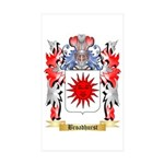 Broadhurst Sticker (Rectangle 50 pk)