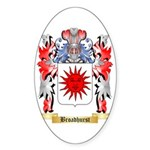 Broadhurst Sticker (Oval 50 pk)