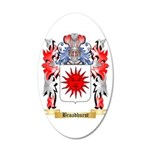 Broadhurst 20x12 Oval Wall Decal