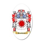 Broadhurst 35x21 Oval Wall Decal