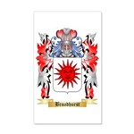 Broadhurst 35x21 Wall Decal
