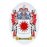 Broadhurst Ornament (Oval)