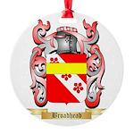 Broadhead Round Ornament