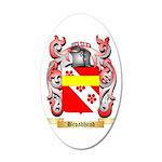 Broadhead 35x21 Oval Wall Decal