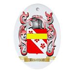 Broadhead Ornament (Oval)