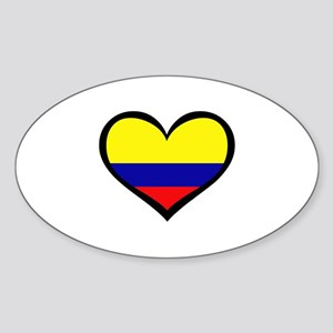 Colombian Love Rectangle Sticker