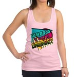 Whats Your Damage? Racerback Tank Top