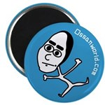 Black Bean Tarou, Magnet (10 pack)