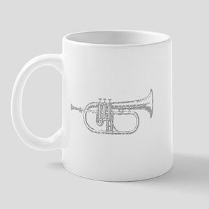 Wavy Trumpet Mug