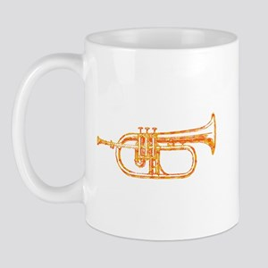 Optical Sunburst Trumpet Mug