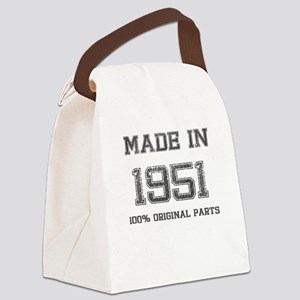 MADE IN 1951 100% ORIGINAL PARTS Canvas Lunch Bag