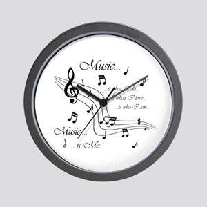 Music is Me Wall Clock