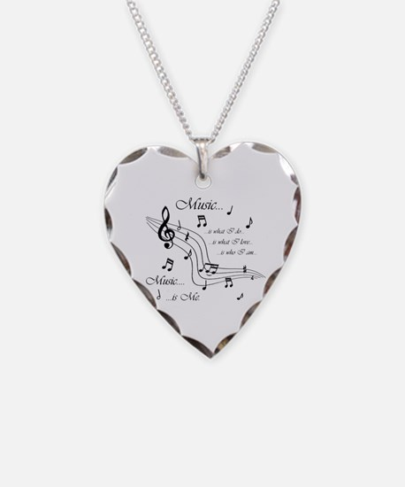 Music is Me Necklace