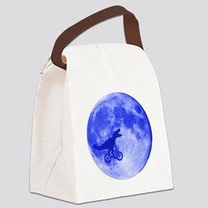 T-Rex Moon Canvas Lunch Bag