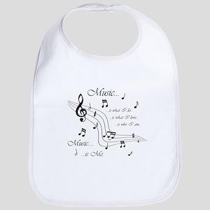 Music is Me Bib