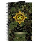 HFPACK Gold Insignia Woodland Camo Field Notebook
