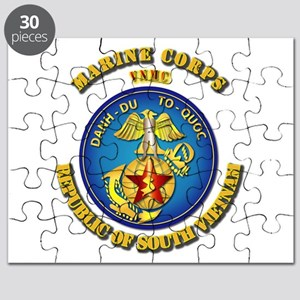 Emblem - Vietnam MARINE CORPS Puzzle