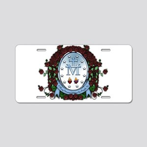 Miraculous Medal 2 Aluminum License Plate