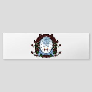 Miraculous Medal 2 Bumper Sticker