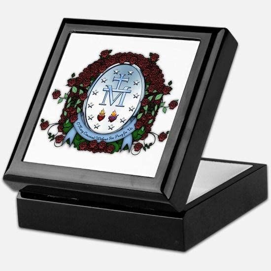Miraculous Medal 2 Keepsake Box