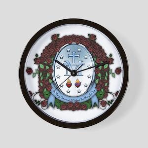 Miraculous Medal 2 Wall Clock