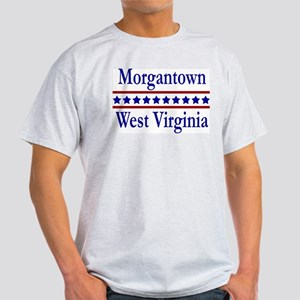 Morgantown WV Ash Grey T-Shirt