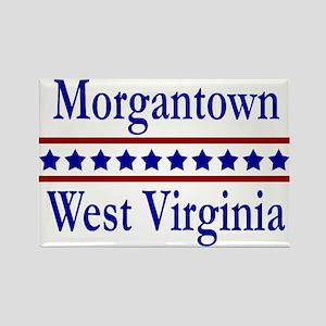 Morgantown WV Rectangle Magnet