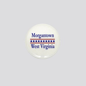 Morgantown WV Mini Button