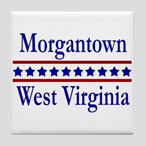 Morgantown WV Tile Coaster